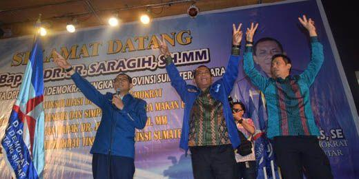 JR Saragih dan Kader Demokrat akan Kerja Keras Menangkan Hulman Sitorus-Hefriansyah pada Pilkada Pematangsiantar 16 November 2016