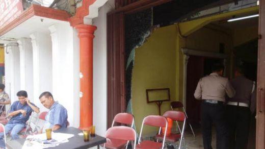 Pasca-Bentrok, Kantor MPW PP Sumut Masih Lengang dan Berserakan