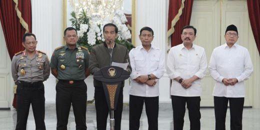 "Ini Pernyataan Lengkap Presiden Jokowi Terkait Demo ""Tangkap Ahok"" pada 4 November 2016"