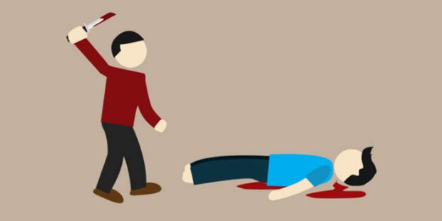Pulang Berlebaran dari Rumah Kerabat, Suami Bacok Istri hingga Terkapar Mandi Darah