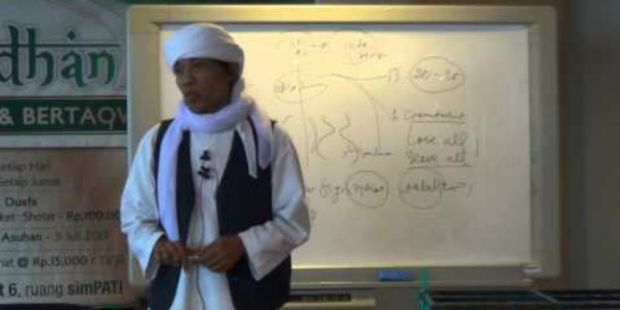 Innalillahi… Ustadz Toto Tasmara Meninggal Dunia saat Jadi Imam Salat Jenazah
