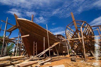 Galangan Kapal Tradisional di Bagansiapiapi; Jejak Pendaratan Tionghoa dan Sisa Kejayaan Surga Ikan di Dunia