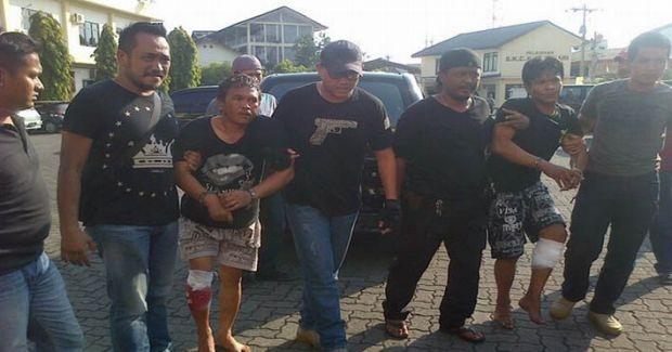 Berusaha Kabur, Kakek Lima Cucu Residivis yang Terlibat Kasus Curat Ditembak Polisi