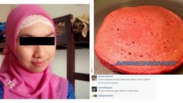 Astaga, Wanita Ini Buat Kue yang Dicampur Darah Haidnya