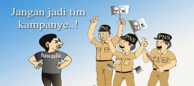 Menjaga Netralitas PNS, TNI dan Polri