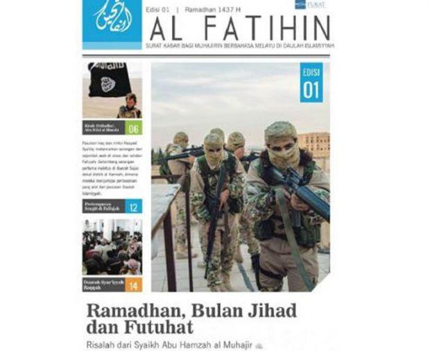 Incar Para Simpatisan Muda di Asia Tenggara, ISIS Terbitkan Surat Kabar Berbahasa Melayu