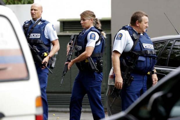 Biadab! Teroris Membabi Buta Tembaki Jemaah Masjid Selandia Baru, Banyak Korban Tewas