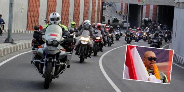 Torehkan Rekor Dunia, Jeffrey Tiba di Tanah Air setelah Bersepeda Motor Seorang Diri Jelajahi 97 Negara Sejak Mei 2012