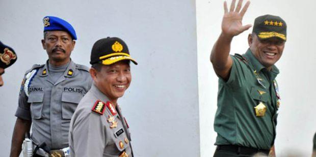 Usai Lihat Mayat Santoso, Kapolri dan Panglima TNI Bilang Begini...