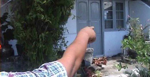 Inilah Rumah Tempat Ketua DPRD Sijunjung Mesum dengan Istri Sopirnya dan Tertangkap Warga