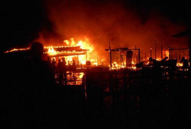 HEROIK... Setelah Selamatkan Bayi, Prajurit TNI AL Tewas Hangus dalam Kebakaran