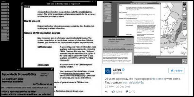 Ini Website Pertama di Dunia yang Online 25 Tahun Silam