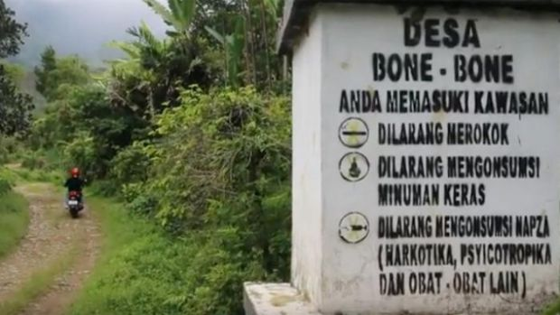 Bone-Bone Sulsel, Desa Bebas Asap Rokok Pertama di Dunia