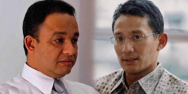 Gerindra & PKS Resmi Calonkan Anies Baswedan-Sandiaga Uno di Pilgub DKI Jakarta