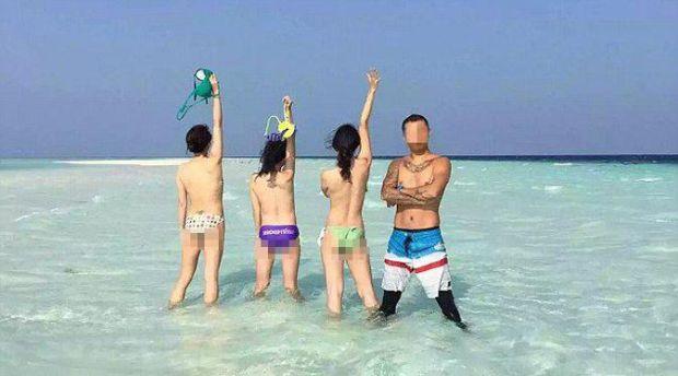 Turis Rame-rame Foto Bugil di Pantai Malaysia Kemudian Diunggah ke Medsos, Akhirnya Ditangkap