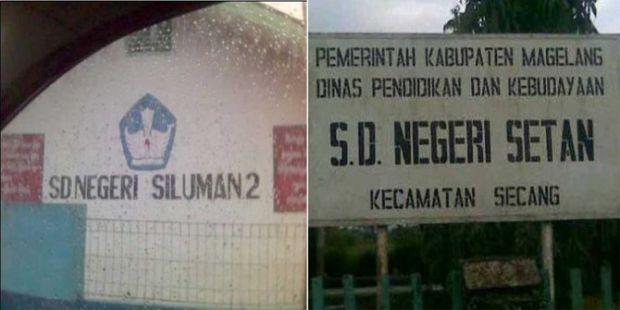 Inilah Sekolah Paling Menyeramkan di Indonesia, SD Setan dan SD Siluman