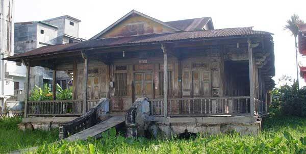 Rumah Kapitan di Bagansiapiapi Terbiar dan Membisu