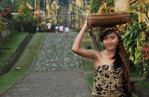 Keren, Panglipuran Bali Terpilih sebagai Desa Paling Bersih di Dunia