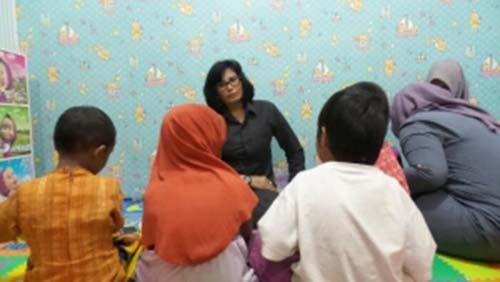 Sempat Bohong Bilang Berada di Bangkinang, 5 Anak Panti Asuhan Tunas Bangsa Pekanbaru Ternyata di Rumah Tersangka di Pasar Bawah dan Sudah Diserahkan Suaminya ke Polisi