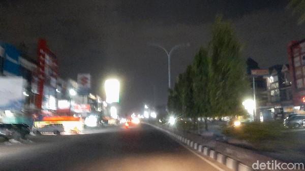 Masalah Sampah belum Tuntas, Kini Lampu Jalan di Pekanbaru Padam