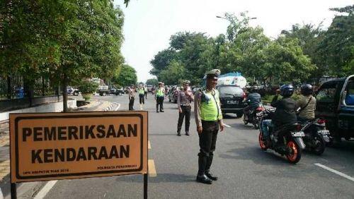 """840 Personel Diterjunkan dalam Operasi Simpatik di Riau, Polisi """"Bidik"""" Pengendara yang Melanggar 3 Hal Ini"""
