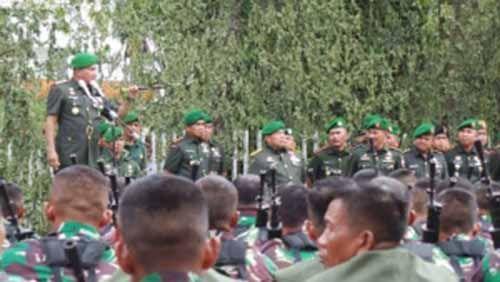 "Pidato Perpisahan Mayjen TNI Lodewyk Pusung di Riau ""Mengerikan"" Sekaligus Mengharukan, Bikin Prajuritnya Diam Membisu"