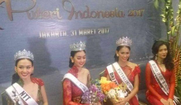Finalis Riau Raih Putri Intelijensia di Pemilihan Putri Indonesia 2017