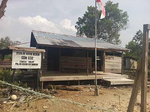 Listrik Pulau Cawan Indragiri Hilir Nyala 24 Jam, Warga Hanya Dibebankan Rp50 Ribu per Bulan