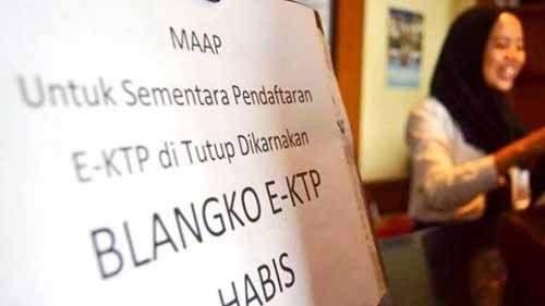 Sudah Setengah Tahun Blangko Kosong, 15 Ribu Data E-KTP di Pelalawan Belum Bisa Tercetak