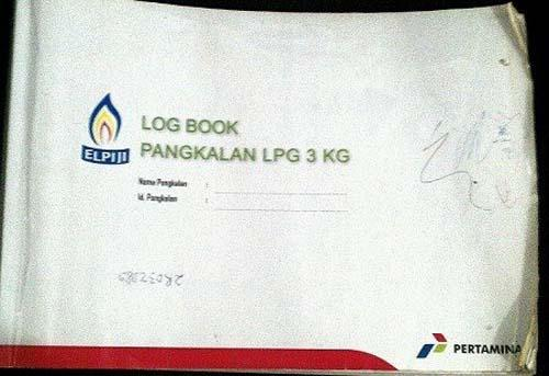 <i>Log Book</i> Penjualan Pertamina yang Diisi PT Pully Rafi Jaya Dumai Diduga Fiktif