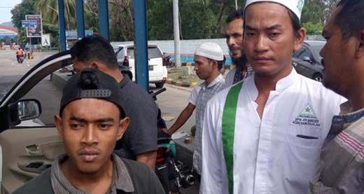Gelombang Massa Aksi 2 Desember dari Riau, Sumbar, Sumut dan Jambi Memadati Pelabuhan Bakauheni