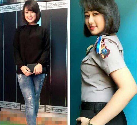 Mengenal Sosok Bripda Indah Risma, Polwan Cantik Asal Rohil yang Sukses Raih Gelar Dara Riau 2016