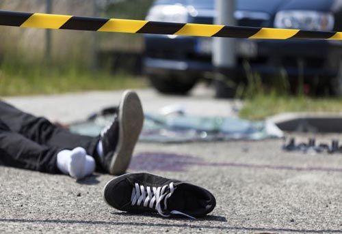 Kecelakaan Jelang Malam Tahun Baru di Km 4 Jalan Raya Pematangreba-Pekanheran Inhu Tewaskan 1 Orang