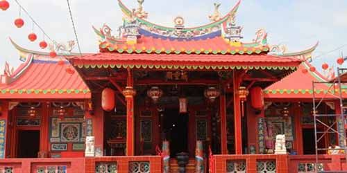Berdiri Sejak 1898, Ini Sejarah Kelenteng Hock Siu Kong di Siak