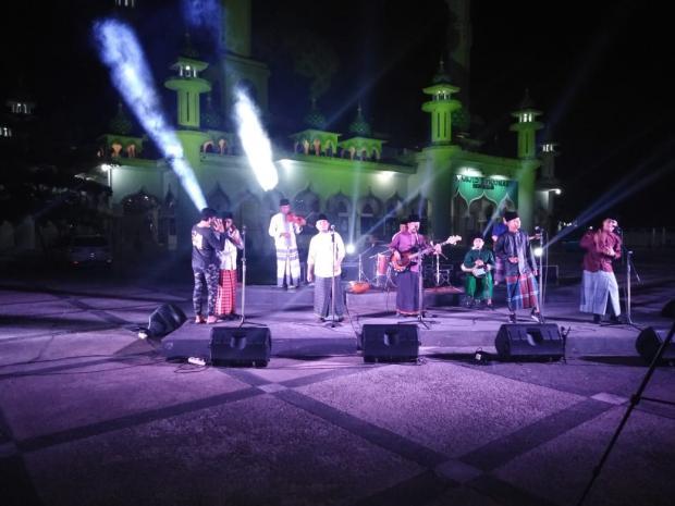 <i>Shooting</i> Video Klip Kompenk Band Sita Perhatian Masyarakat Kota Bengkalis