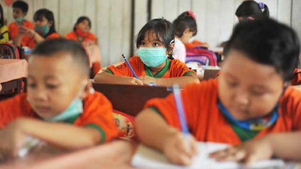 Darurat Asap, Libur Sekolah di Pekanbaru Sudah 28 Hari, Pekan Depan Sekolah 2 Kali Seminggu