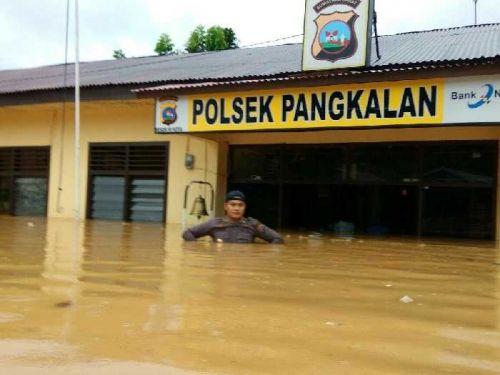 Info Terbaru dari Perbatasan Riau-Sumbar: Hujan Masih Mengguyur Pangkalankotobaru Limapuluhkota