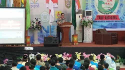Di Hadapan Aktivis Mahasiswa se-Indonesia yang Sedang Kumpul di Pekanbaru, Kapolri Jenderal Tito Karnavian Bicara Urgensi Bhinneka Tunggal Ika