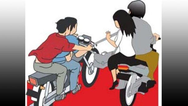 Di Kota Selatpanjang, Jambret Kian Berani Beraksi di Siang Bolong, Dompet Giok Dirampas dari Pegangan