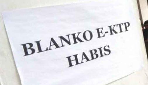 Oalah, Sudah Delapan Bulan Blanko E-KTP Kosong di Kabupaten Siak