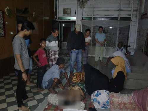Pengamen Keliling Asal Desa Yukumjaya Lampung Meninggal di Rumah Seorang Warga Pulau Kijang Inhil