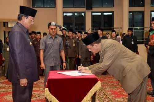 Sejak Dilantik Jadi Sekdakab Inhil, Kinerja Said Syarifuddin Dinilai Mengecewakan
