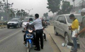 Peduli Asap di Riau, RAPP Bagikan 25 Ribu Masker di Lima Kabupaten
