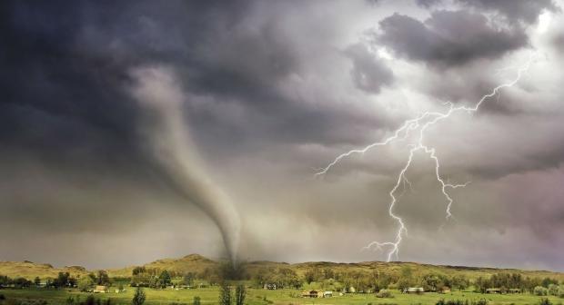 Angin Puting Beliung Rusak 23 Rumah dan Satu Sekolah di Rokan Hulu