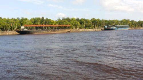 DPRD Pelalawan Segera Panggil Bos Perusahaan Pemilik Kapal Tongkang yang Diduga Perusak Pulau Untut Kecamatan Telukmeranti