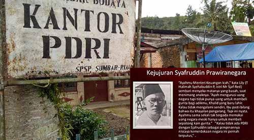 Syafruddin Prawiranegara, Presiden 207 Hari yang Terlupakan; Istri Jualan Sukun Goreng untuk Menghidupi 8 Anaknya