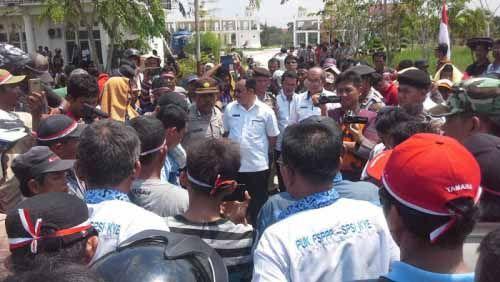Balada Buruh PT Jatim Jaya Perkasa di Rohil yang Keluhkan Kontrak hingga Dihadang Senjata