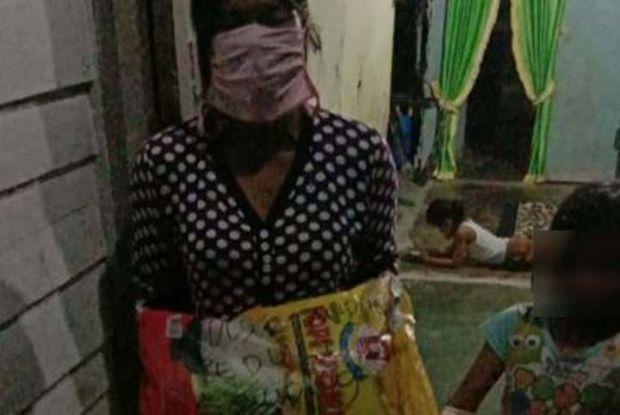 Ibu 3 Anak yang Dipolisikan PTPN V karena Curi Buah Sawit di Rohul Tergolong Warga Miskin, tapi Tak Pernah Dapat Bantuan Sembako