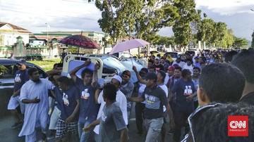 <i>Innalillahi</i>... Bupati Halmahera Timur Meninggal Usai Daftar Pilkada di KPU