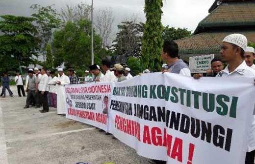 Demo Desak Ahok Ditangkap dan Dihukum Meluas ke Dumai, 10 Ormas Islam Rapatkan Barisan di Mesjid Habiburrahman